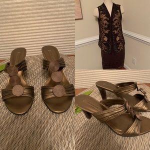 Copper Jones of New York sandals Sz 8.5